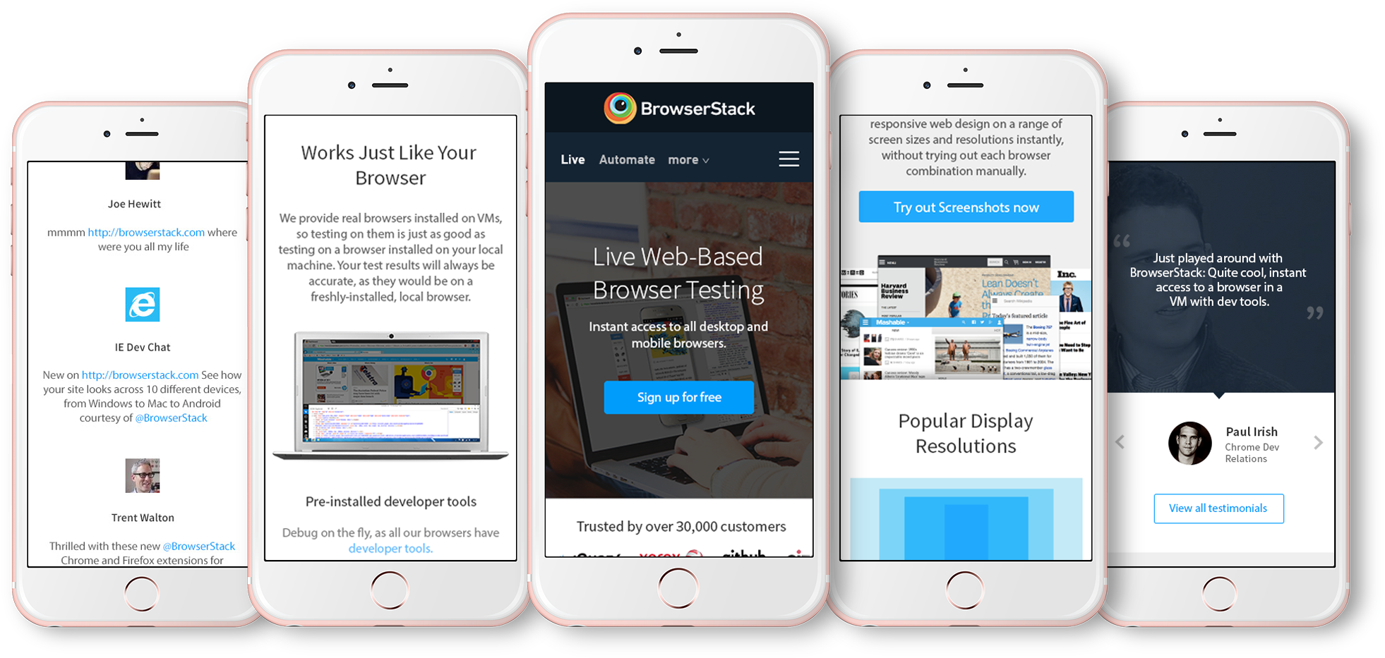 BrowserStack Responsive